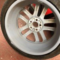Alloy Wheel Buckle Repair