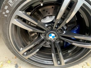 BMW alloy wheel from Caterham client