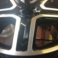 Mercedes AMG Diamond Cut Wheel Repair