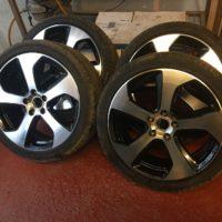 VW Golf Monza Wheels